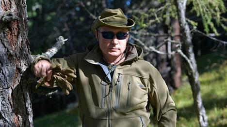 Lomakuva Putinin Siperian-matkalta lokakuussa 2019.