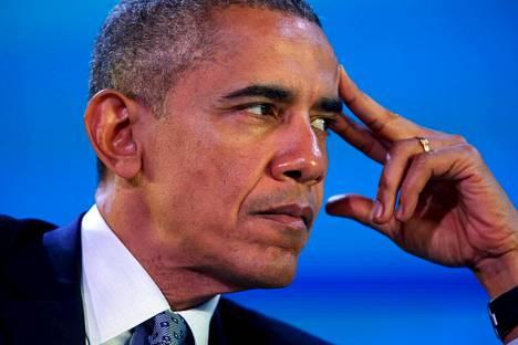 Yhdysvaltojen presidentti Barack Obama osallistui keskiviikkona Apec-huippukokoukseen Manilassa Filippiineillä.