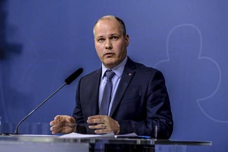 Ruotsin oikeusministeri Morgan Johansson uskoo, että Ruotsin pitää olla edelläkävijä seksin oston kieltämisessä myös ulkomailta.