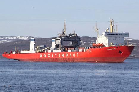 Rikkoutunut ydinkäyttöinen venäläinen rahtilaiva Sevmorput purjehtii tiistai-iltana Suomenlahdelle matkallaan Pietariin.