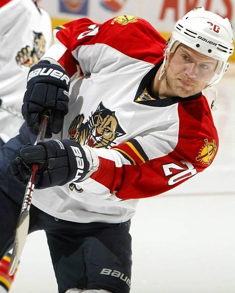 Sean Bergenheim on pelannut urallaan 388 NHL-ottelua tehopistein 71+61=132.