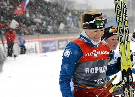 Riitta-Liisa Roponen jatkaa harjoittelua toistaiseksi itsenäisesti.