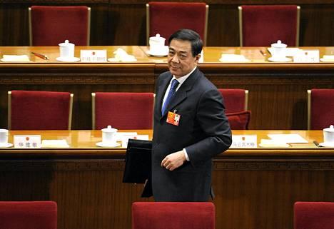 Bo Xilai kuvattuna maaliskuussa 2012.