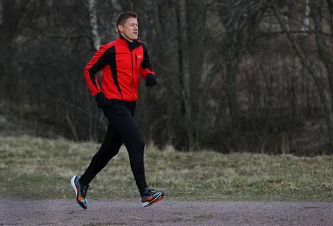 Juoksutyylin muutos auttoi selviytymään tuntemattomasta urakasta.