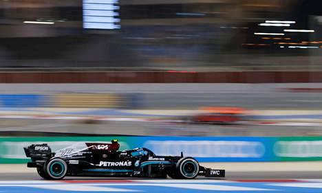 Valtteri Bottas uskoo vauhtiinsa, vaikka Mercedeksen auto ei olekaan samaa tasoa kuin edelliskaudella.