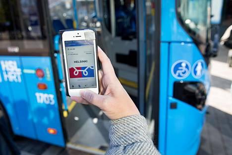 Helsingin seudun joukkoliikenteen mobiililippuihin on tulossa uusi lipputuote: 14 päivän kausilippu.