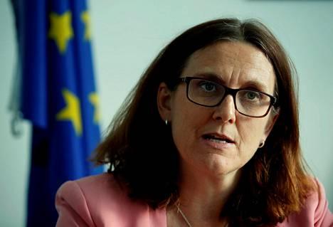 EU:n kauppakomissaari Cecilia Malmström uskoo, että aika suppealle vapaakauppasopimukselle riittäisi, vaikka komission kausi loppuu noin yhdeksän kuukauden päästä.