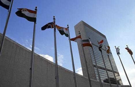 YK:n päämaja New Yorkissa joutui salakuuntelun kohteeksi.