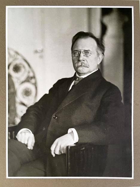 Gustaf Nyström vuonna 1916.
