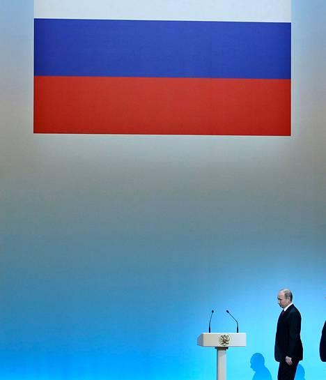Venäjän presidentti Vladimir Putin kuvattiin Kiinassa viime kuussa. Torstaina hän vastasi kansalaisten kysymyksiin suorassa lähetyksessä Venäjän pääkanavilla.