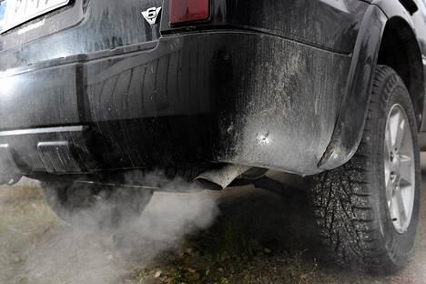 Ajoneuvovero perustuu päästöihin.