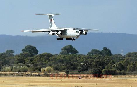 Lentokone osallistui turmakoneen etsintään lauantaina.