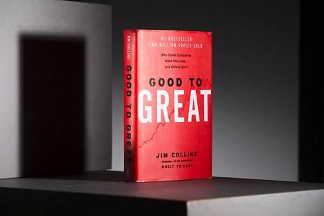 Good to Great ilmestyi suomeksi nimellä Hyvästä paras.