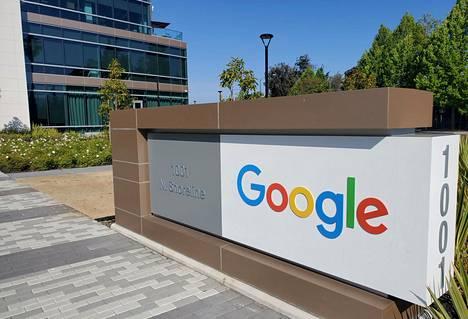 Googlen pääkonttori Kalifornian Mountain Viewssa Yhdysvalloissa.