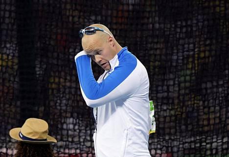 David Söderbergin uran paras tulos 78,83 olisi riittänyt Riossa olympiakultaan.