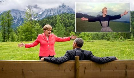 Angela Merkel ja Julie Andrews, kuin kaksi marjaa?