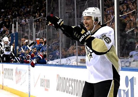Jussi Jokinen on pelannut mainiot pudotuspelit NHL:ssä.