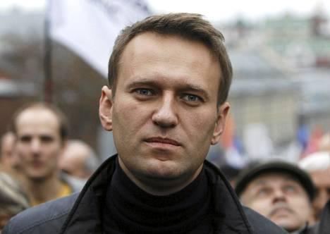 Venäjän oppositiojohtaja Aleksei Navalnyi osallistui opposition mielenosoitukseen viime sunnuntaina Moskovassa.