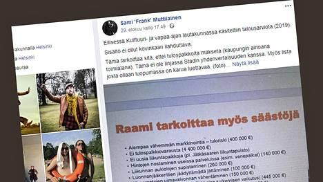 Sami Muttilainen julkaisi leikkauslistan Facebook-sivullaan.