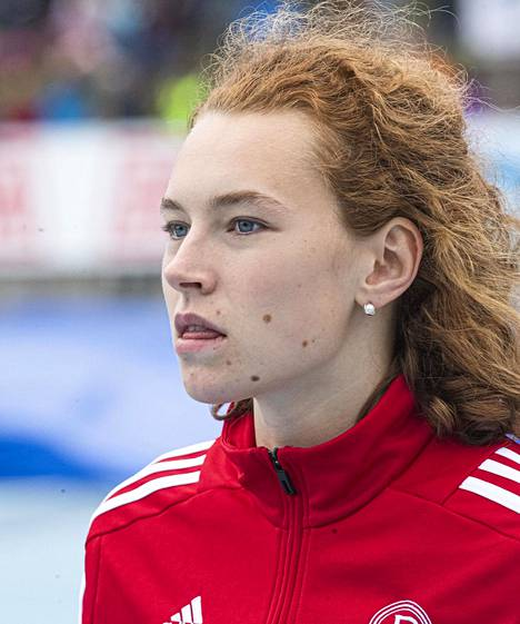 Ella Junnila voitti korkeushypyn Suomen mestaruuden.