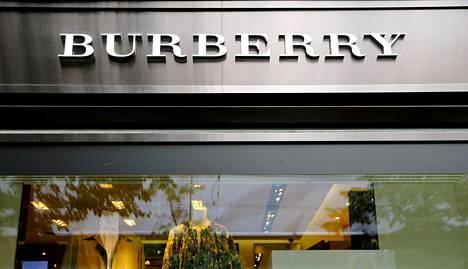 Muotitalo Burberry ei halua tuotteitaan alennusmyynteihin.