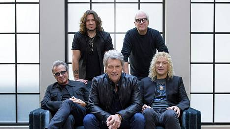 Bon Jovin keulakuva on Jon Bon Jovi (keskellä), mutta yhtyettä ei olisi ilman muita jäseniä, sanovat Tico Torres (vas.) ja David Bryan (oik.).