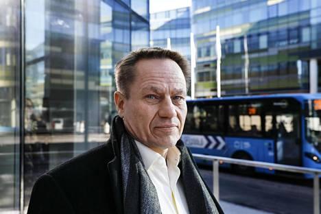 Mika Lauhde on Huawein kansainvälinen verkkoturvallisuusjohtaja.