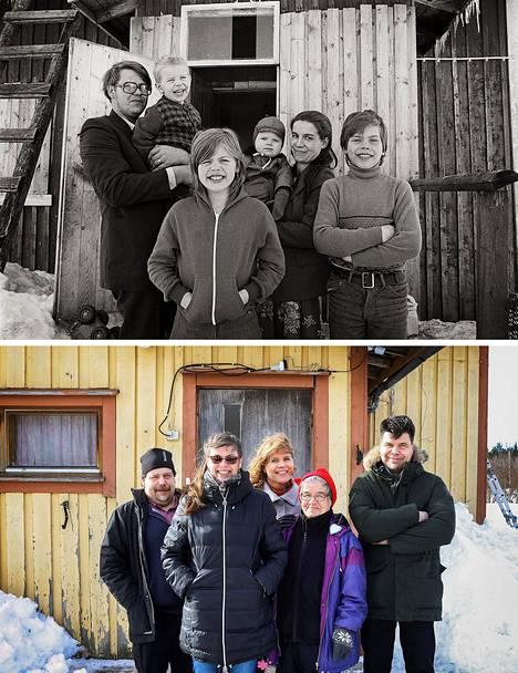Vuonna 1979 Seura-lehti keräsi köyhäinapua paltamolaiselle Korkkosen perheelle. Jukka Gröndahl kuvasi Korkkosen perheen vuonna 1979 ja 2019. Kari, Sari, Mari, äiti Helena sekä Jari. Vuonna 1979 kuvassa oli myös perheen isä Reijo.