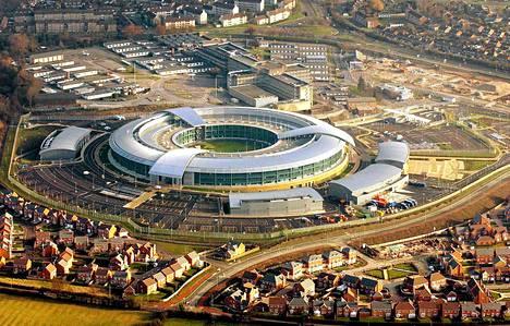 Britannian signaalitiedustelukeskuksen päämaja sijaitsee Cheltenhamissa.