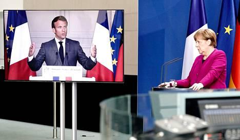 Ranskan presidentti Emmanuel Macronin ja Saksan liittokansleri Angela Merkelin ehdotus tarkoittaa käytännössä EU:n nimissä otettua lainaa.