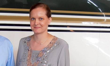 Leila Kaleva palasi Suomeen miehensä Atte Kalevan kanssa viime perjantaina.