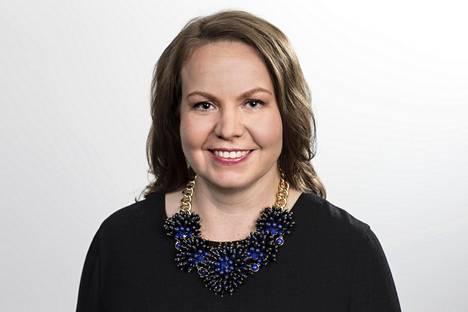 Hanna Hartikainen on ensimmäinen nainen Suomen Golfliiton puheenjohtajana.
