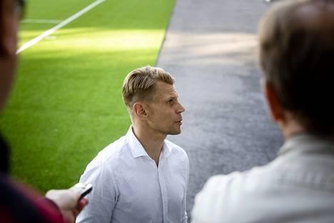 HJK:n valmentaja Toni Koskela kertoi joukkueensa olleen kärkikamppailun parempi osapuoli.