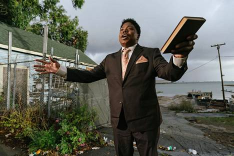 "Willie Hen is the ""preacher"" in The Last Black Man in San Francisco."