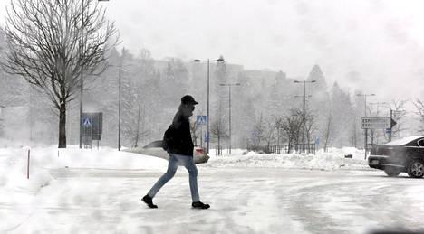 Espoon tammikuu on ollut pitkän aikavälin valossa poikkeuksellisen luminen.