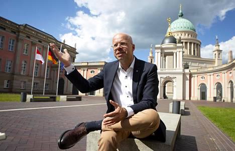 Andreas Kalbitz on erotettu puolueesta äärioikeistoyhteyksien takia.