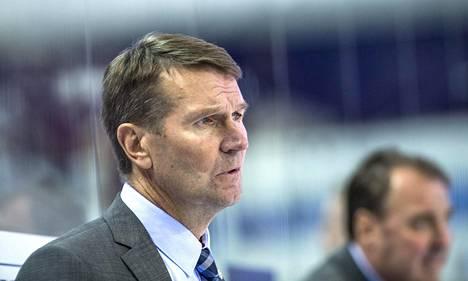 Päävalmentaja Erkka Westerlund ei ollut täysin tyyty väinen Jokerien puolustuspeliin.