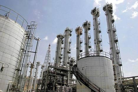 Arakin ydinlaitos Iranissa.