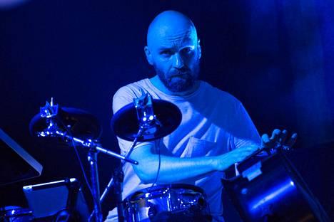 Björkin rumpupatteristoa hoiteli Finlandia-talossa Samuli Kosminen.