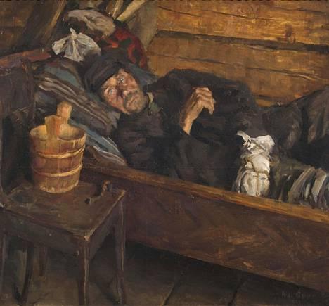 Akseli Gallen-Kallela: Haavakuume, 1889.