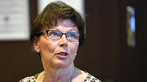 Sosiaali- ja terveysministeriön osastopäällikkö Outi Antila.