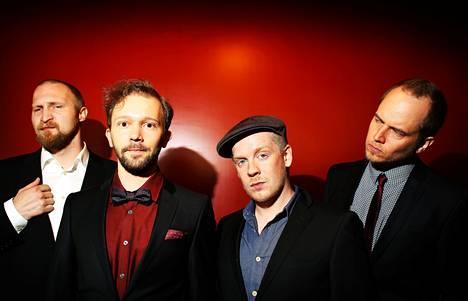 Paleface (vas.), Valtteri Pöyhönen, Redrama ja Tommy Lindgren alkoivat työstää Burnaa-levyä vuosi sitten. Kaikki toivovat, että yhteistyö ei jää vain siihen.