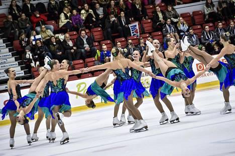 Marigold IceUnity nousi vapaaohjelmassa SM-kultaan.