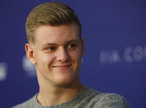 Mick Schumacher kuvattuna 7. joulukuuta 2018.