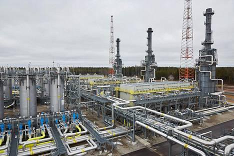 Portovajassa lähellä Pietaria sijaitsevalla Gazpromin kompressoriasemalla valmistellaan kaasu lähetettäväksi Itämeren pohjalla kulkeviin Nord Stream -putkiin. Gazprom haluaa rakentaa olemassa olevan putkiparin viereen toisen. Hankkeen nimi on Nord Stream 2.
