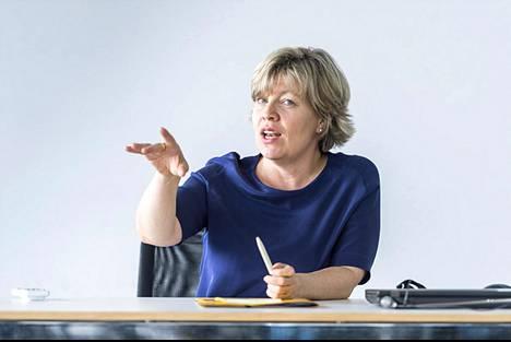 Andrea Römmele toimii johtajana berliiniläisessä Hertie School of Governancessa.