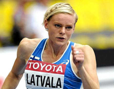 Hanna-Maari Latvala juoksi tiistaina satasen alkuerissä oman ennätyksensä 11,30.