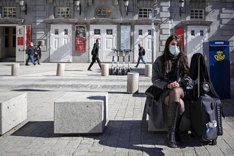 Pariisissa asuva tunisialainen Eya El Ghoul saapui Madridiin viettämään viikonloppua ystäviensä kanssa.