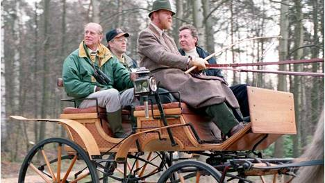 HEL100, MAY 3RD 1995 HELSINKI, SOUTHERN FINLAND: His Royal Highness Prince Philip is on a four days visit in Finland as the President of the World Wide Fund For Nature. Prince Philip visited on Wednesday the Viikki National Park in the heart of Helsinki. LEHTIKUVA / JUHA KÄRKKÄINEN