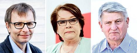 Heikki Hiilamo, Ann Selin ja Ilpo Kokkila